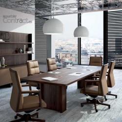 Mesa de juntas rectangular...